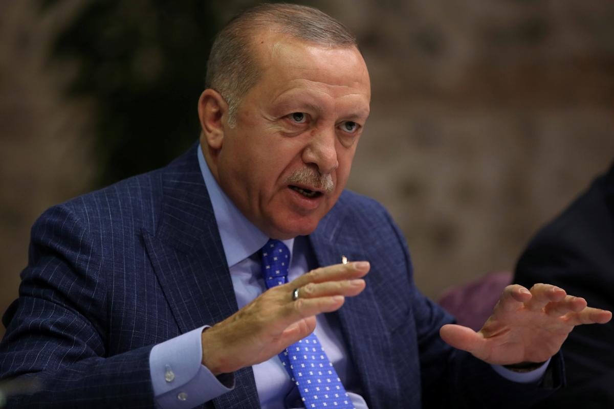Erdogan says Turkey will never declare ceasefire in northern Syria...