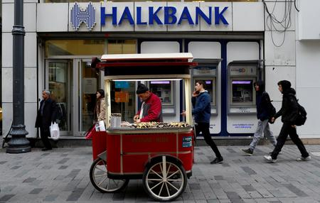 Shares of Turkey's Halkbank plunge after U.S. charges