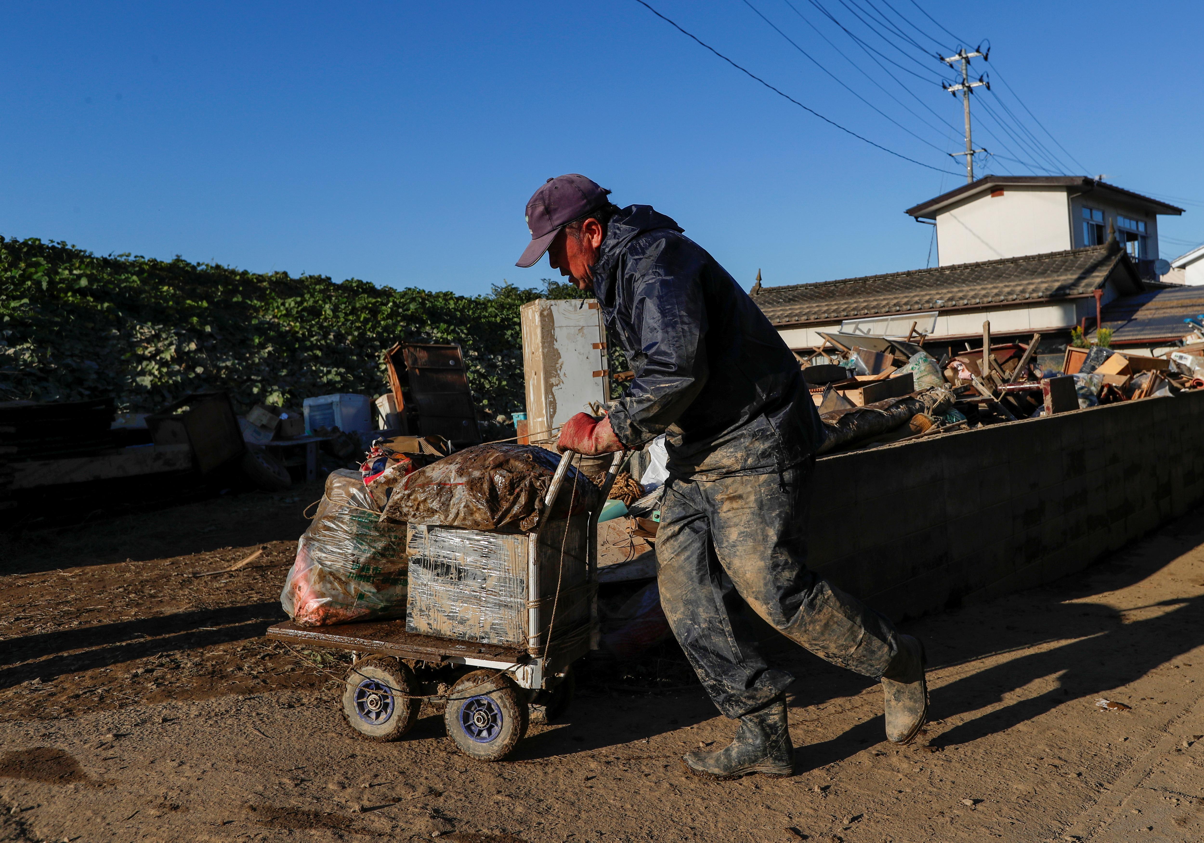 Japanese flood disaster frays resilience of elderly victims