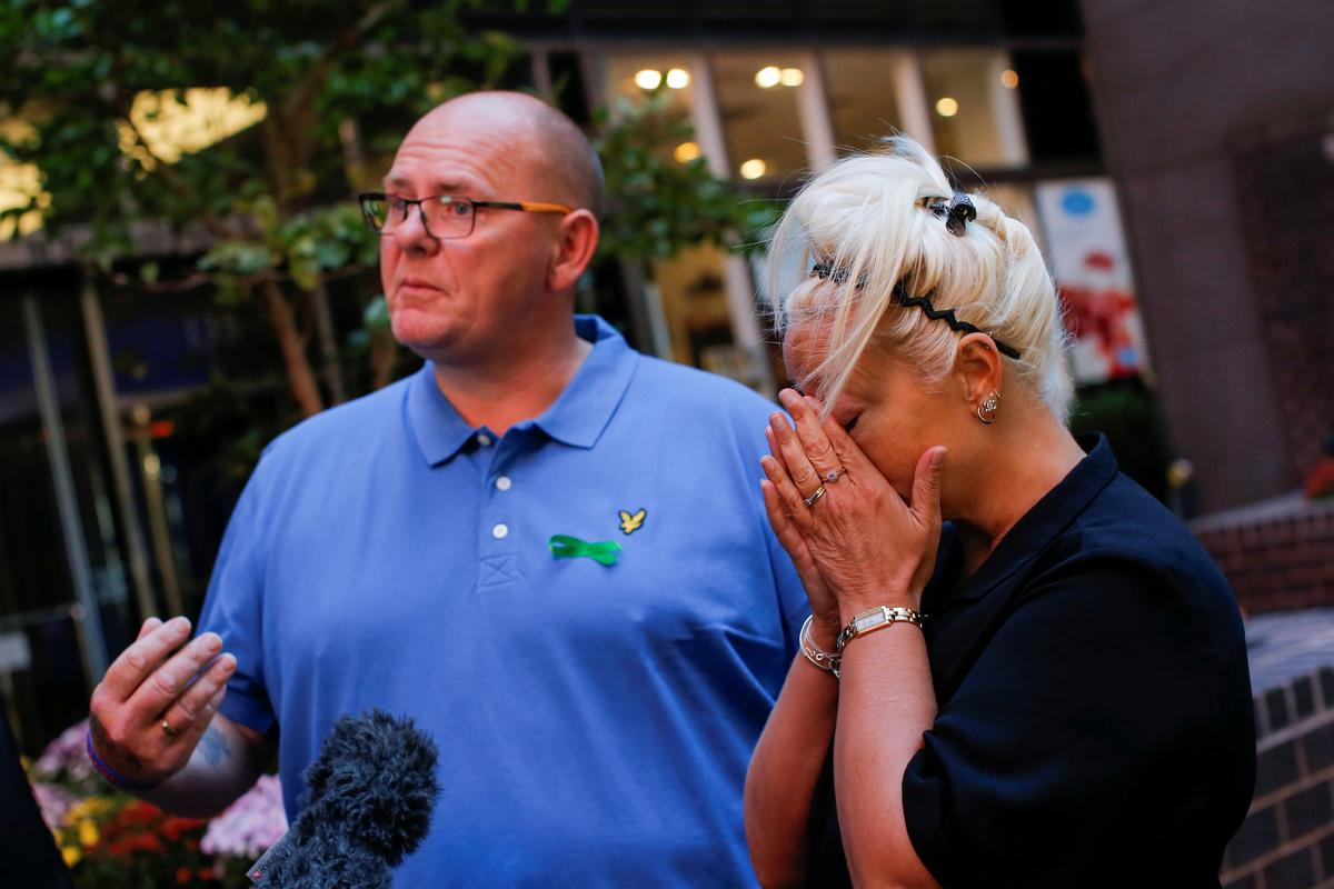 U.S. security chief 'heaped pain' on grieving parents of UK teen:...