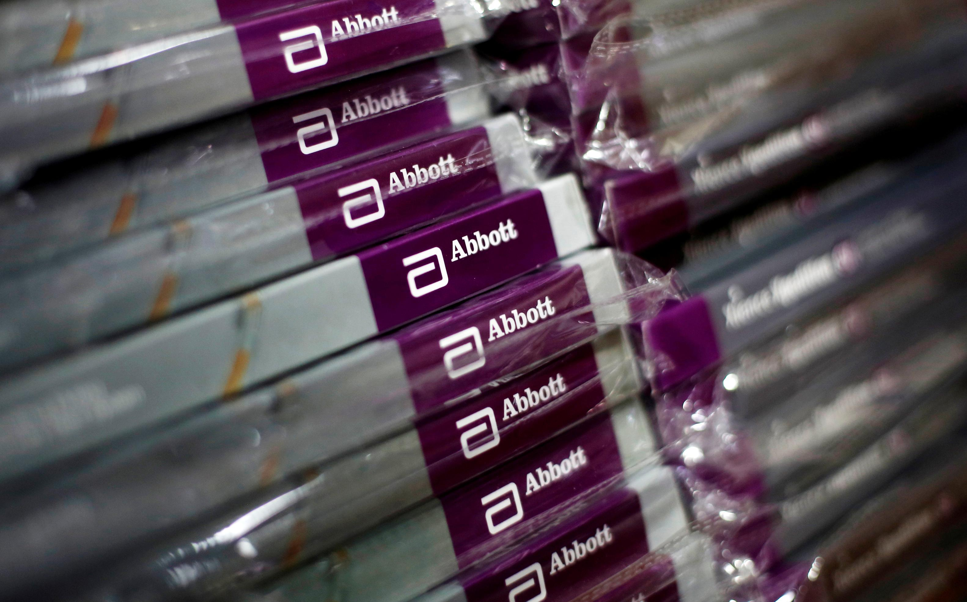 Abbott revenue misses as heart devices eclipse diabetes gains