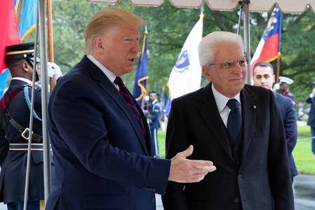 UPDATE 4-Trump upbeat on trade talks with EU, hints at reprieve for some duties on Italian products