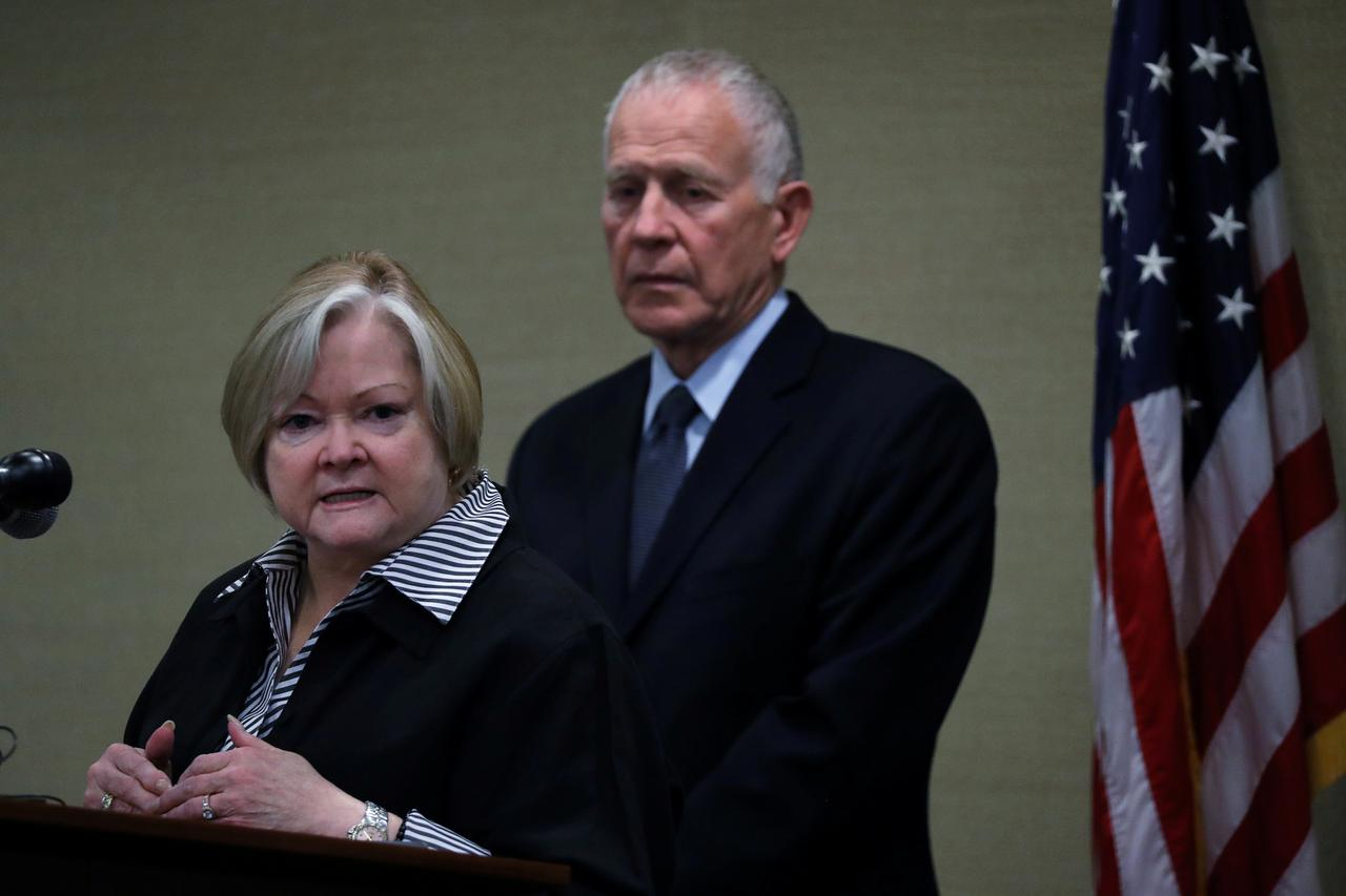 Image result for Parents of slain gay man chide Trump's attorney general over LGBT rights