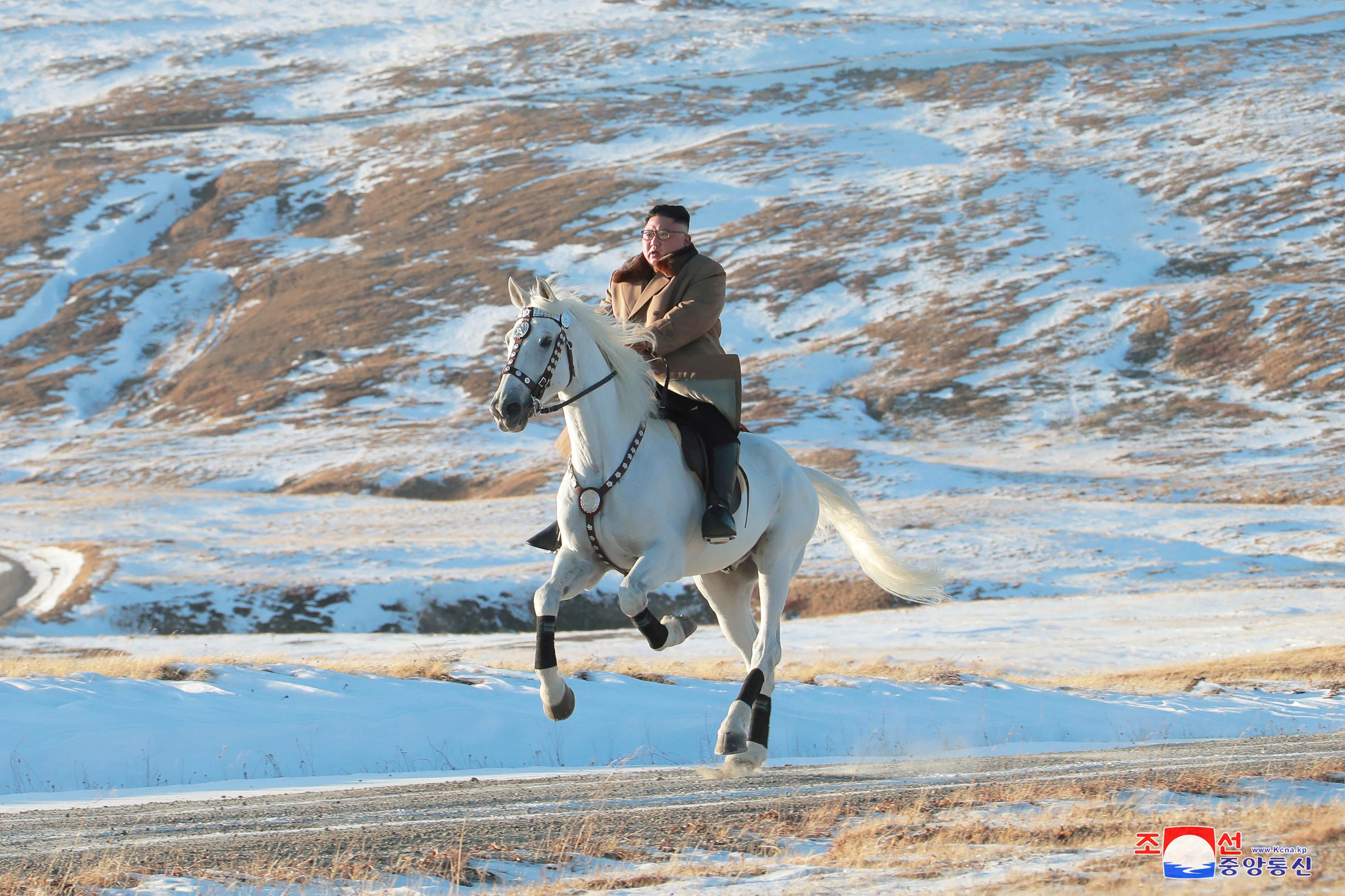 The North Korean history behind Kim Jong Un's mountain horse ride