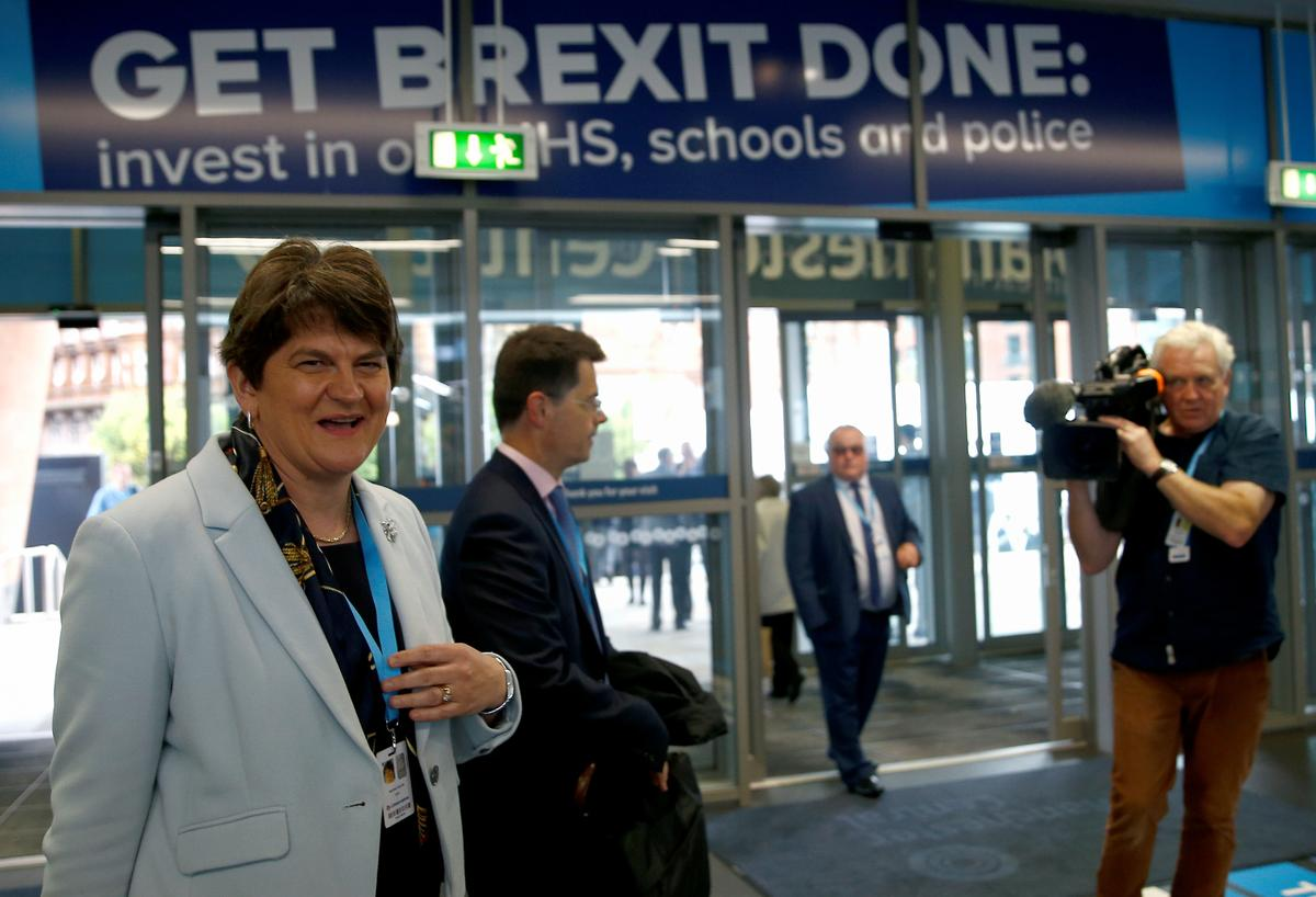 DUP will encourage Conservative lawmakers to oppose Brexit deal