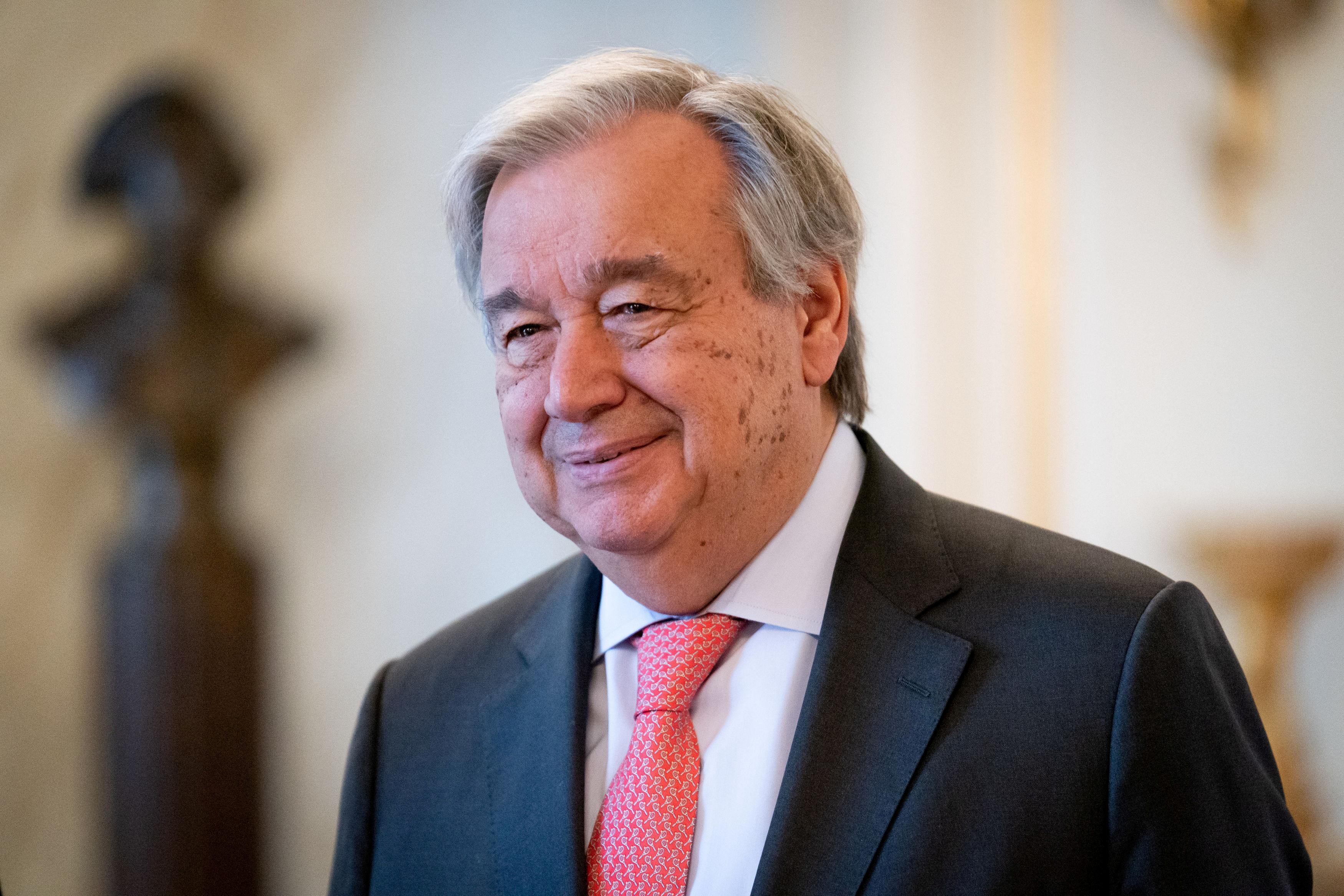 U.N. chief welcomes Turkey pause in Syria assault, 'still long way...