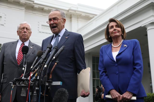 Pelosi Trump Exchange Meltdown Barbs Over Meeting On U S