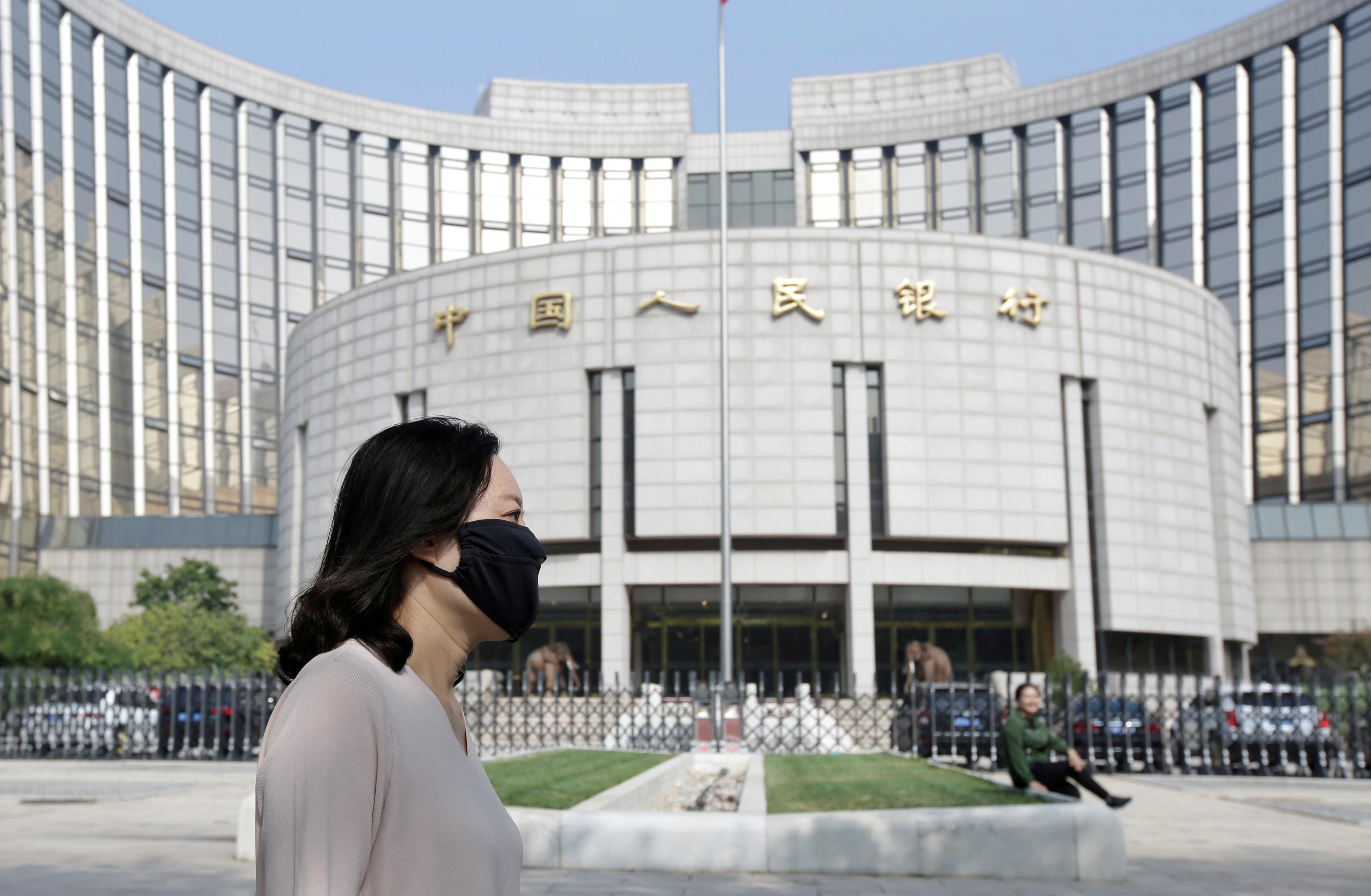 China central bank says will continue to implement prudent monetary...