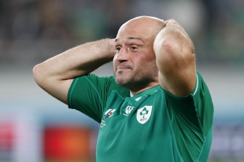 Tearful Best and Schmidt end Ireland careers with quarter-final exit
