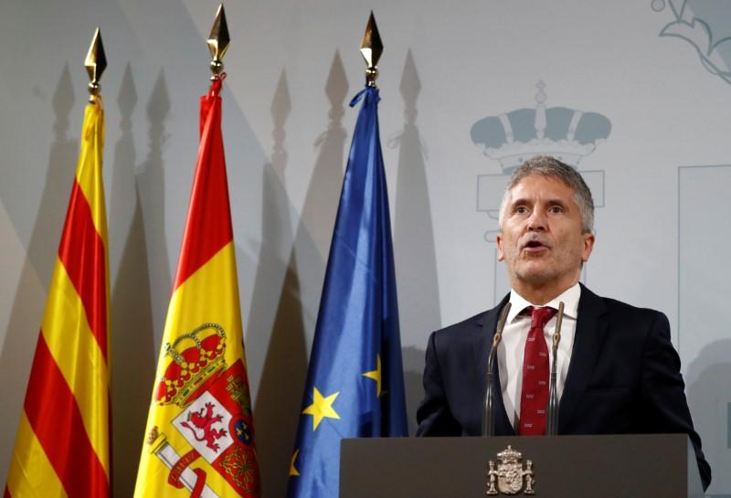 Spanish government dismisses call for Catalan talks; police brace...