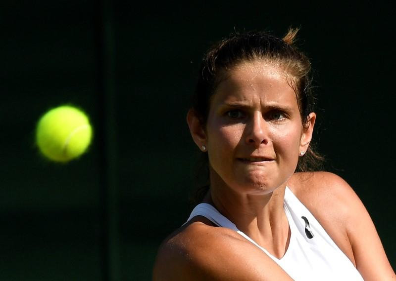 Goerges sets up Ostapenko showdown in Luxembourg final