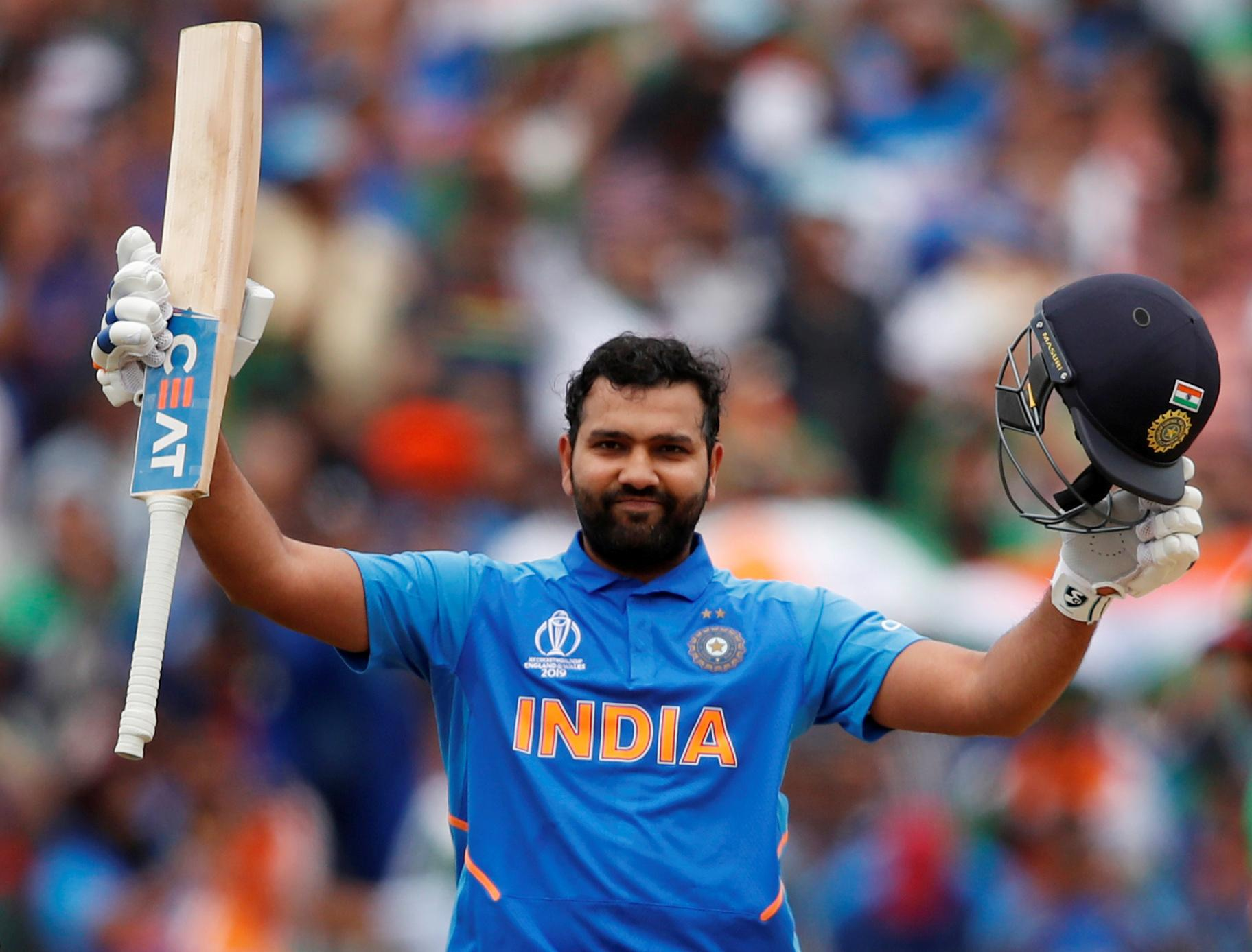 Rohit on brink of maiden double-century as India consolidate