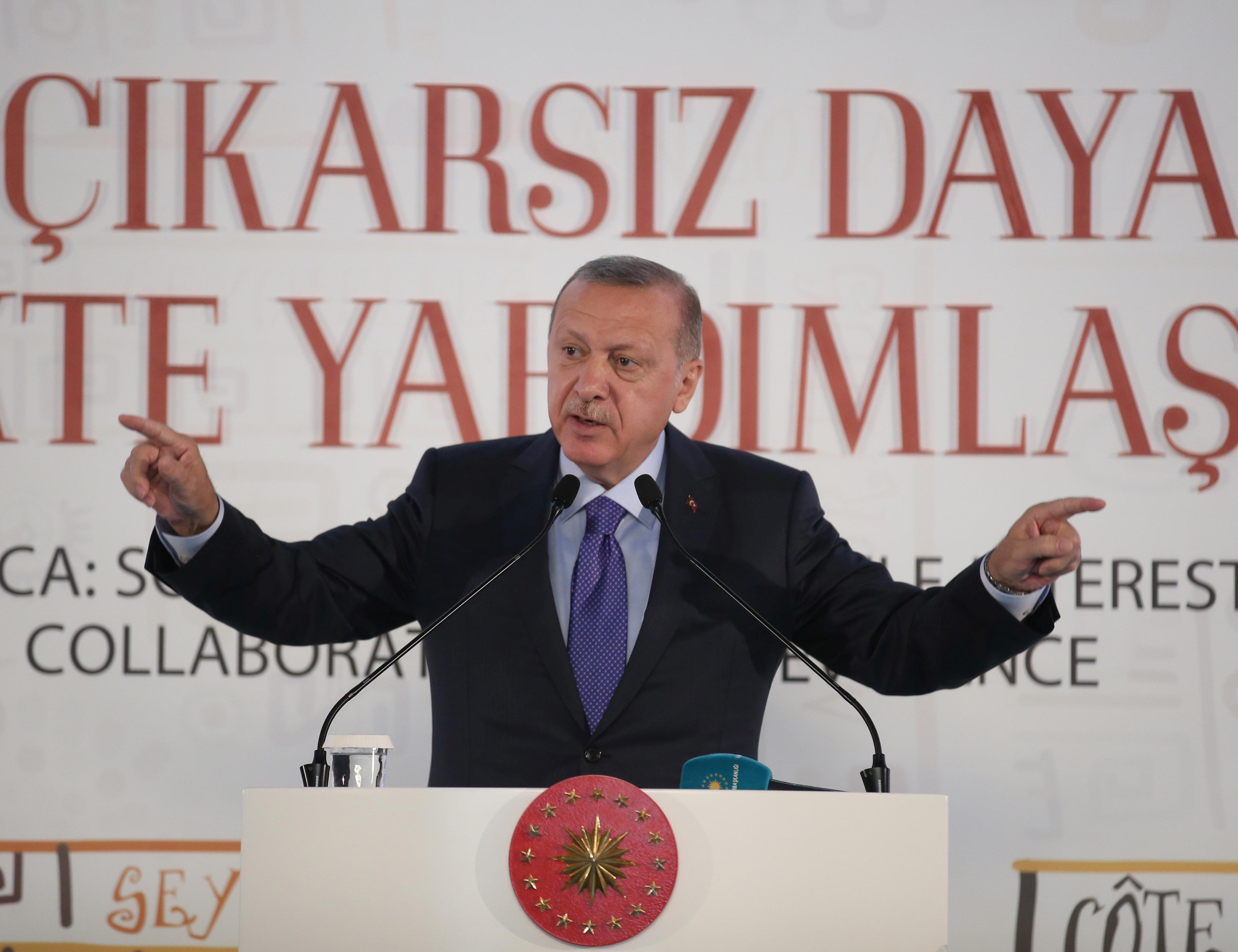 Erdogan says Turkey expects U.S. to keep promises, not stall Syria...