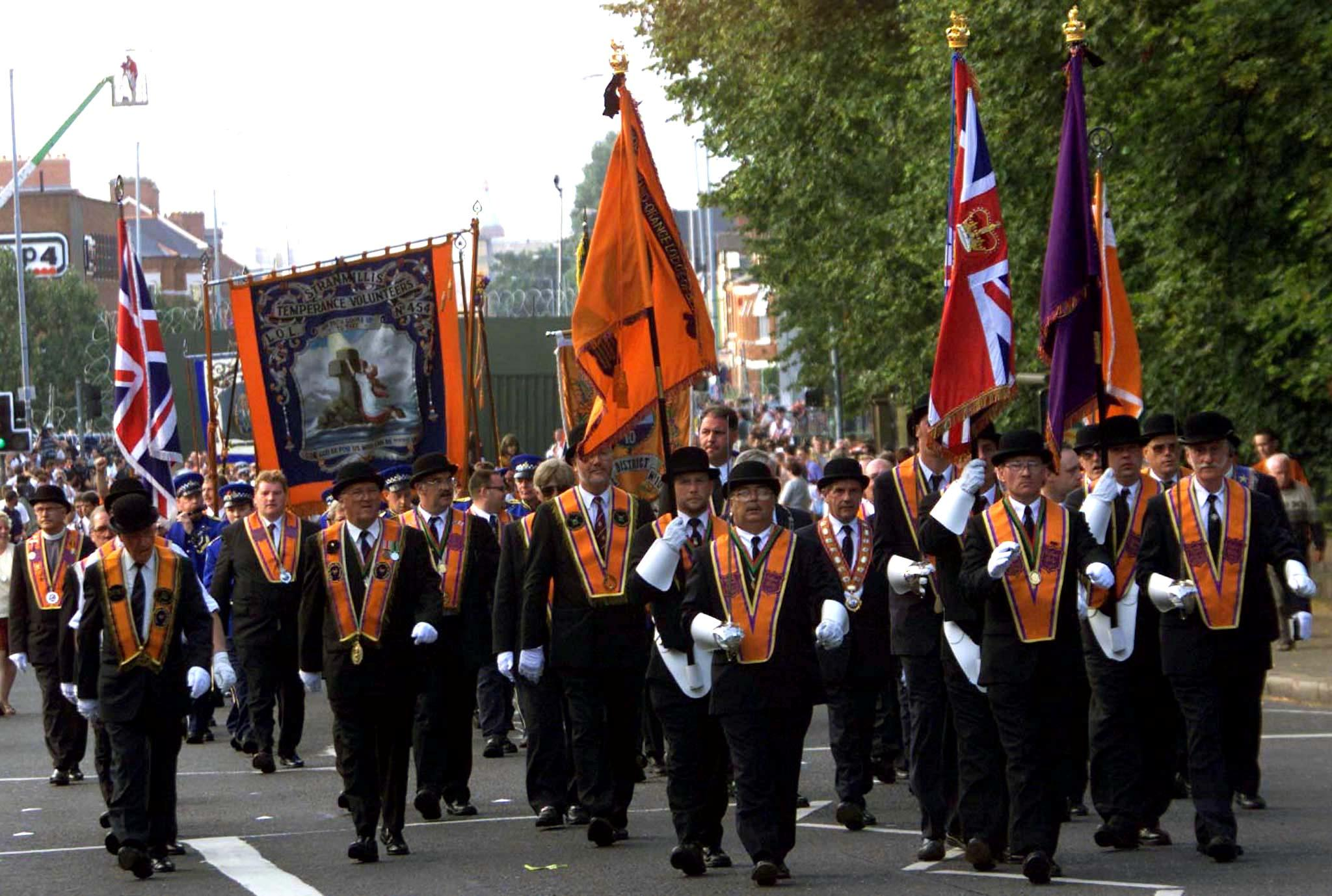Exclusive: Ireland's Orange Order discourages protests over Brexit...