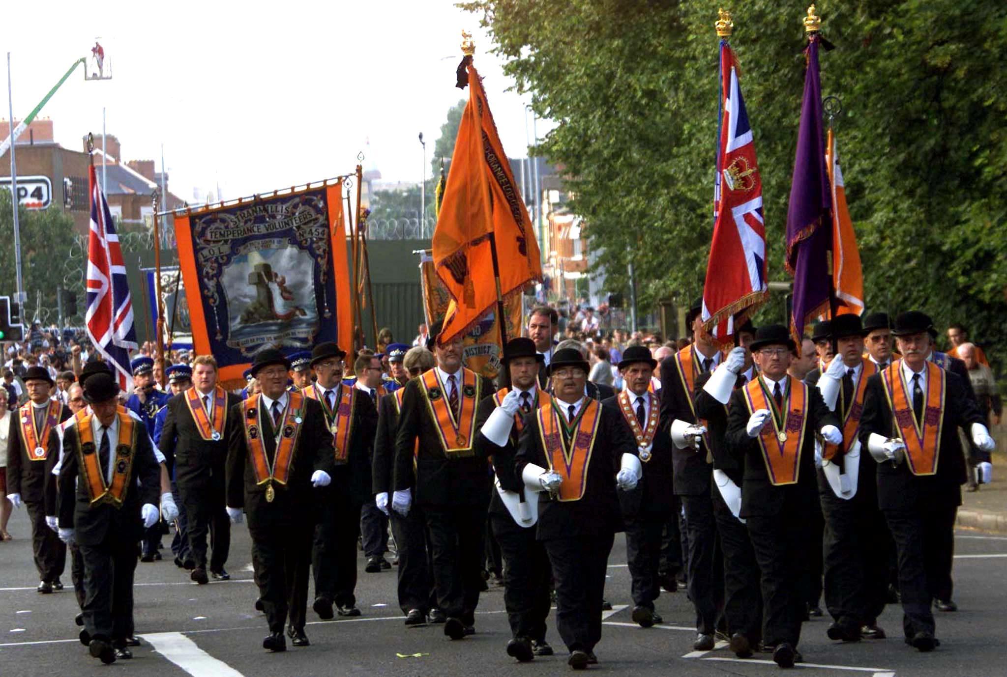 Exclusive: Ireland's Orange Order discourages protests over Brexit...