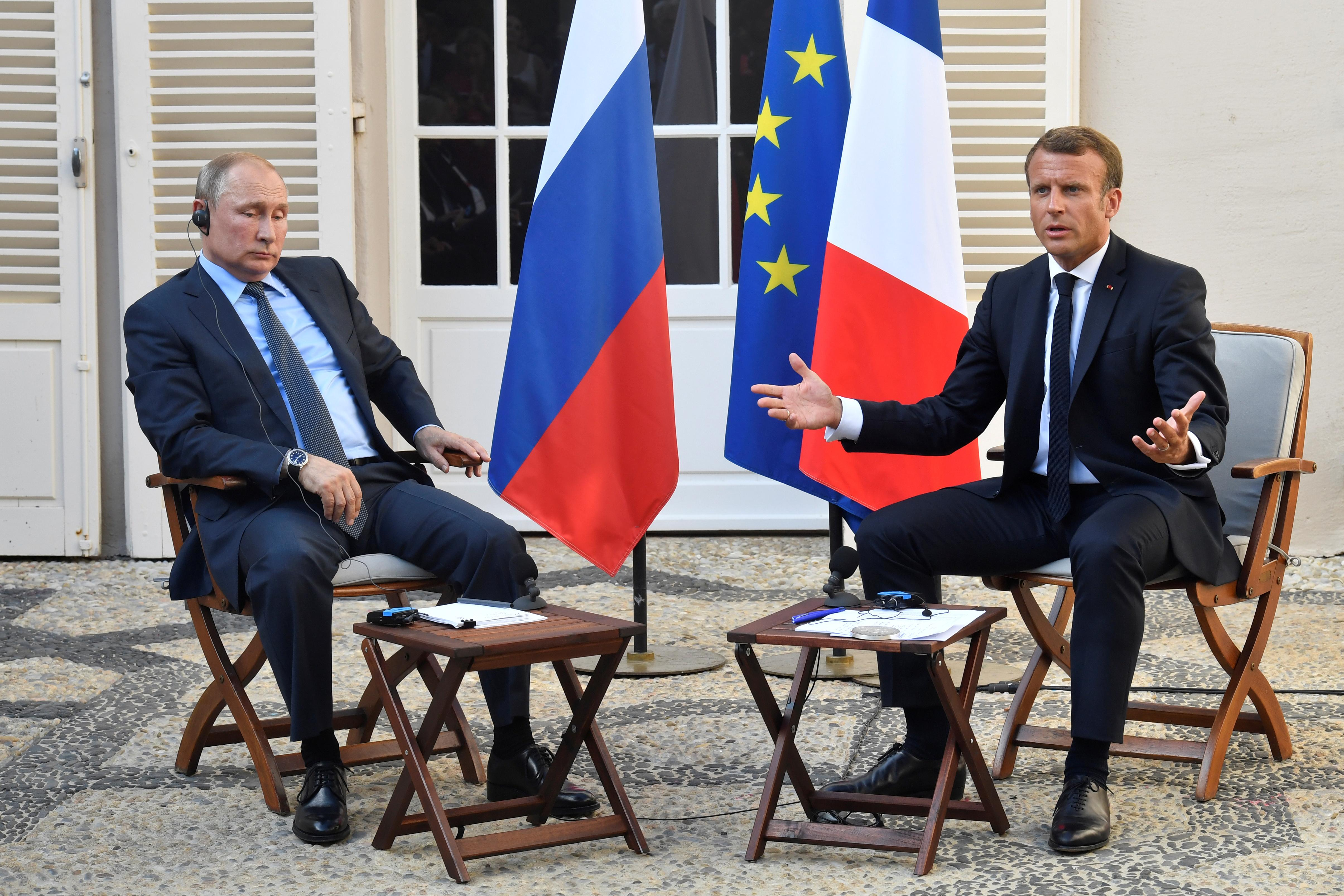 Putin, Macron discussed Syria, Ukraine by phone: Kremlin