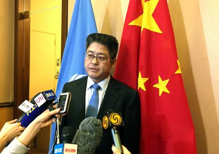 Chinese vice foreign minister says progress made in trade talks with U.S.