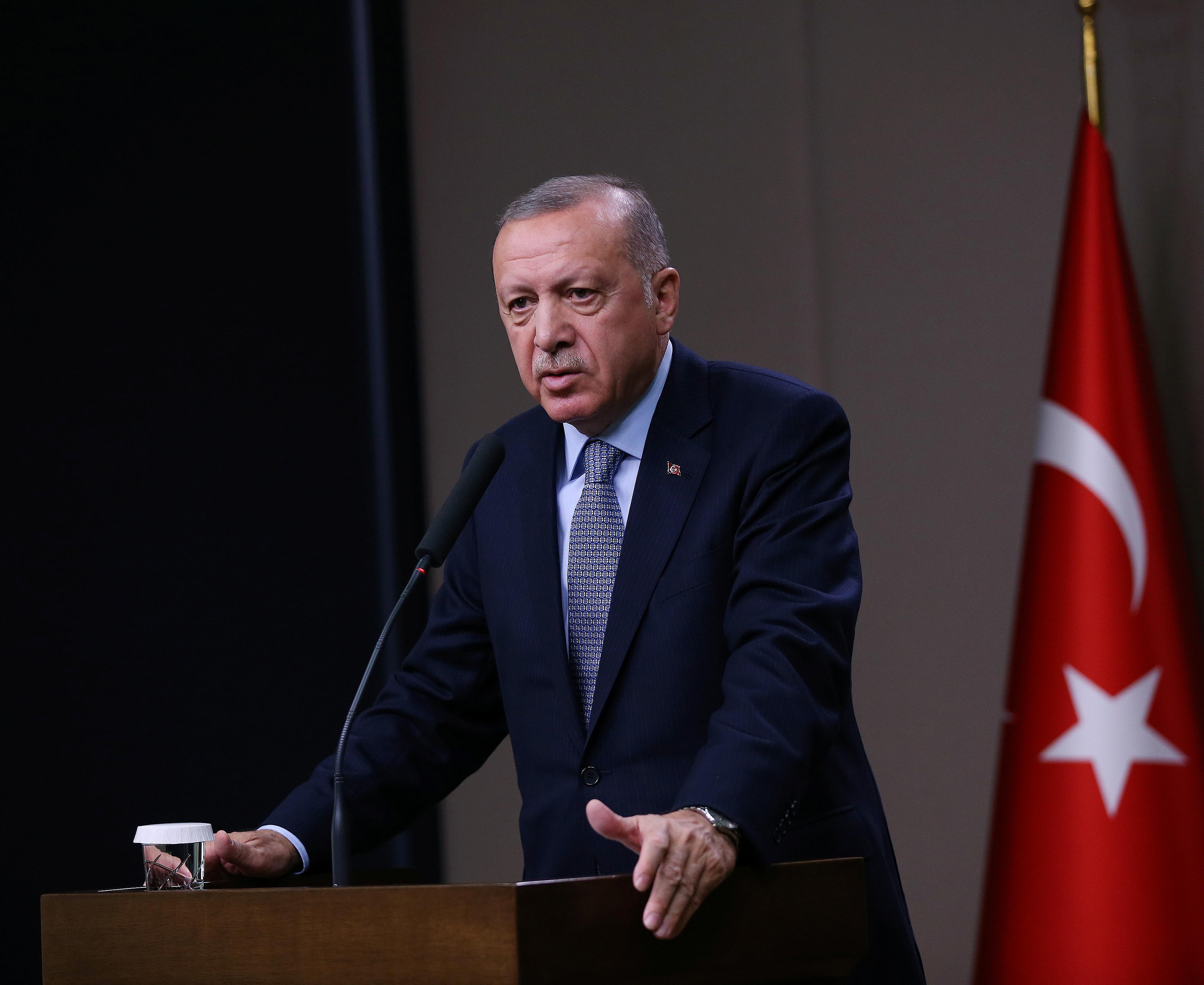Turkey will resume Syria assault if U.S. promises not met: Erdogan