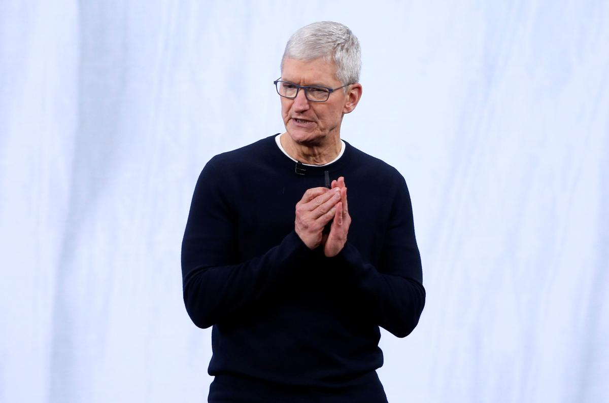 Apple CEO Cook named chairman of top Chinese business school's advisory board
