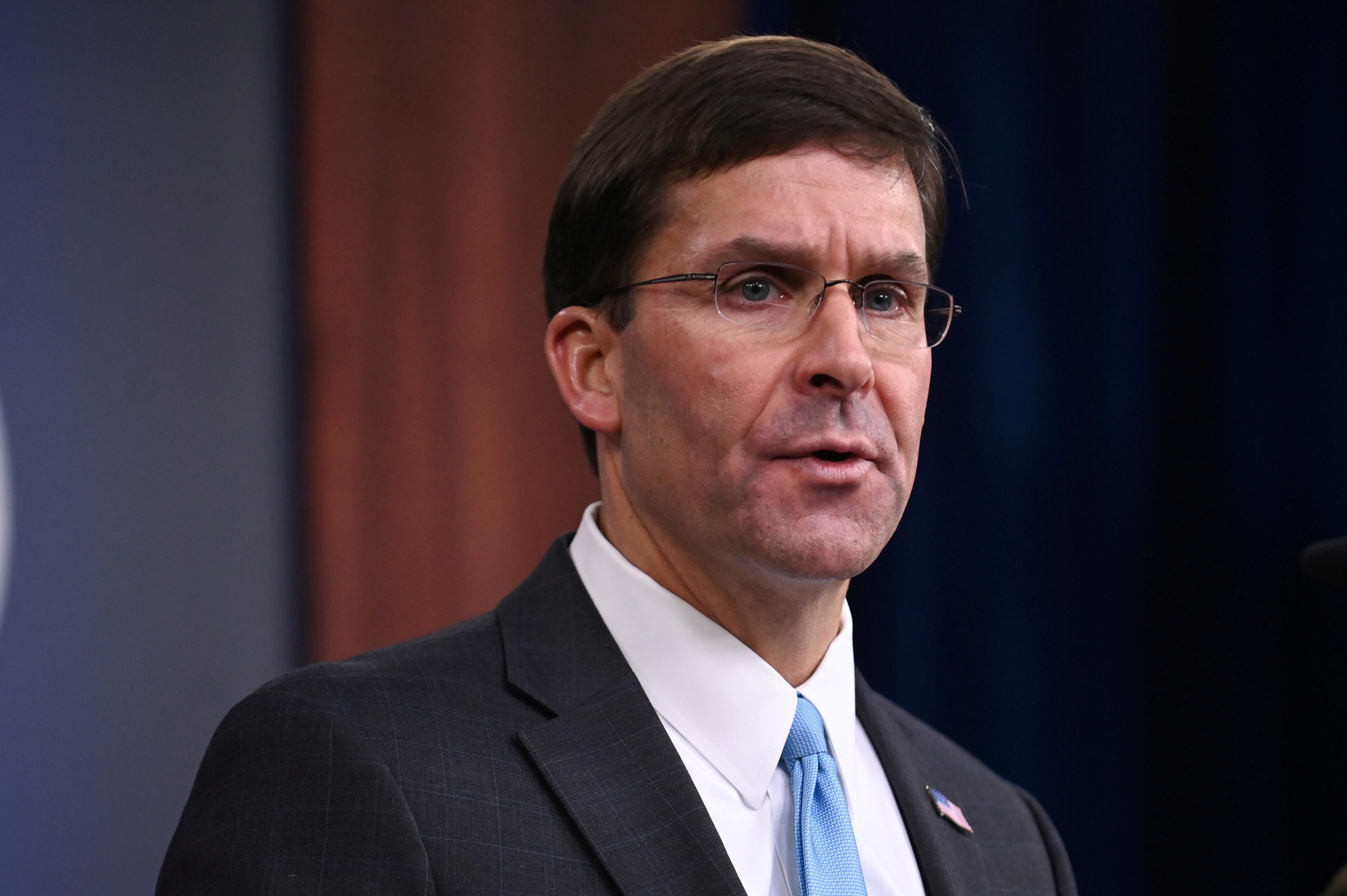 U.S. defense chief recuses himself from review of $10 billion cloud...