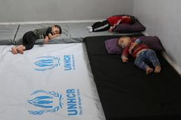 Civilians caught in the Turkish assault in Syria