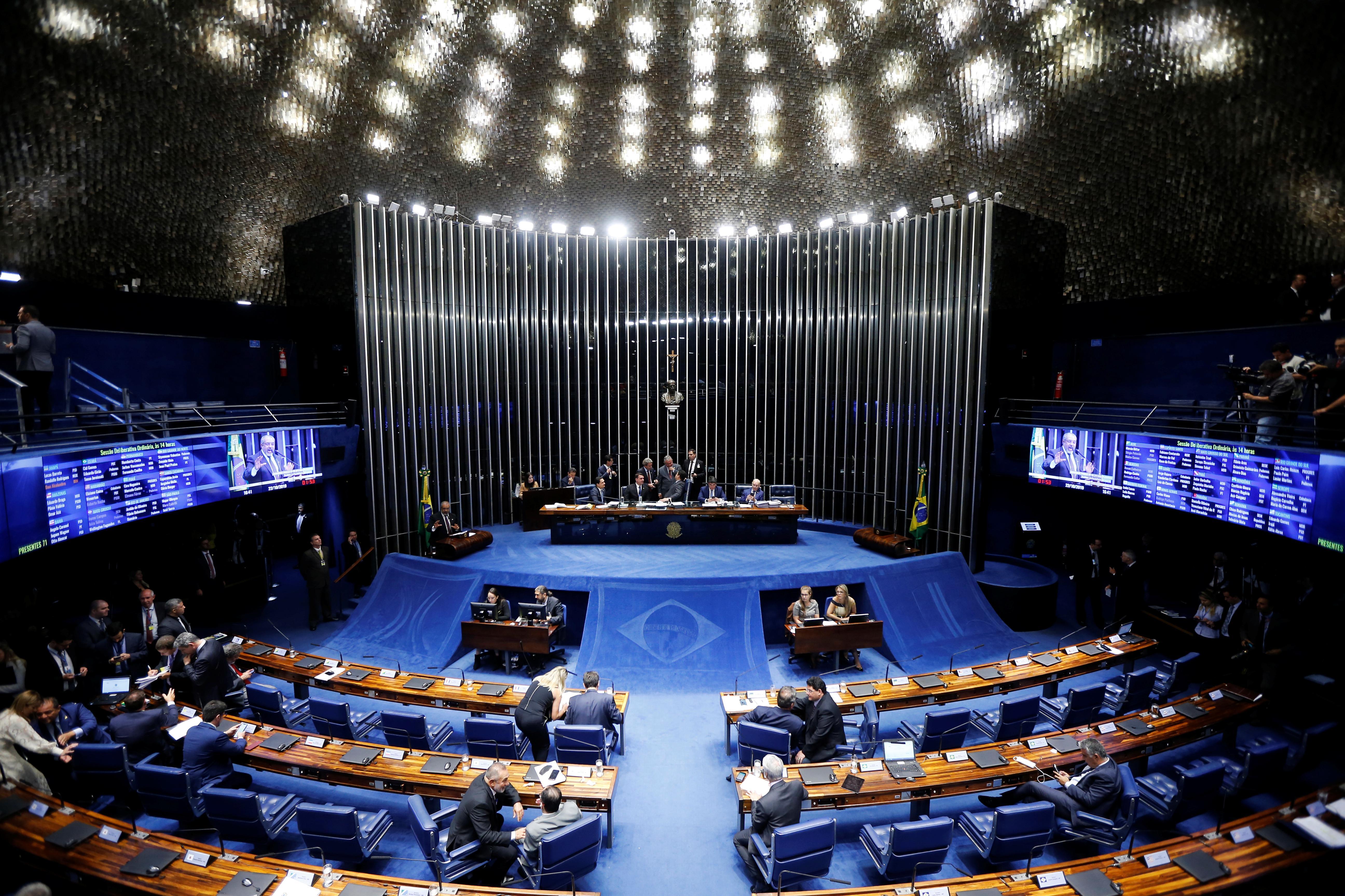 Brazil's Bolsonaro heralds 'great day' as Senate approves pension...