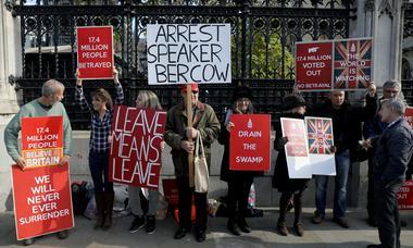 アングル:英議会のEU離脱法迅速審議否決で起きる次の事態