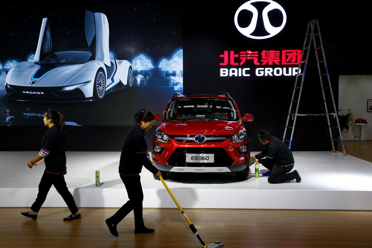 China's BAIC to launch intelligent cars under new brand: chairman