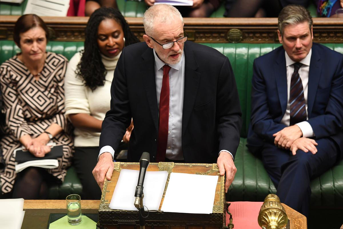 Let's agree a 'reasonable' Brexit timetable, Labour's Corbyn tells UK PM
