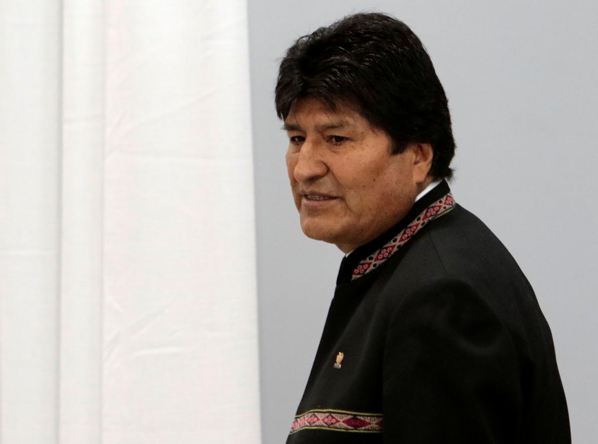 Bolivia's Morales calls on military to unite amid turmoil over disputed election
