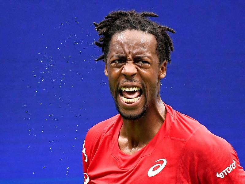 Tennis: Monfils rallies to beat Novak in Vienna
