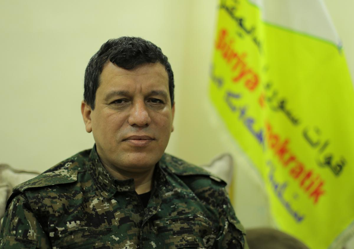 U.S. senators want quick visa for Kurdish general, amid Syria crisis