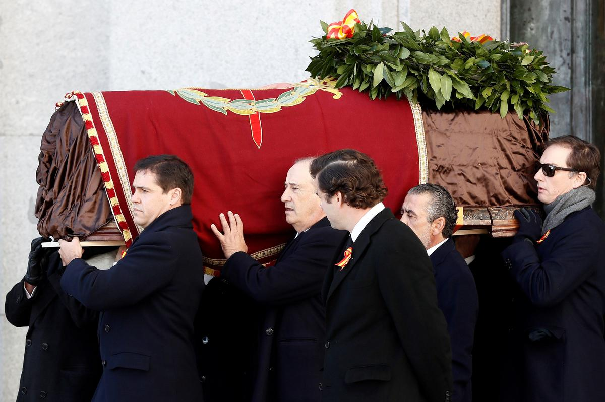 Confronting its troubled past, Spain exhumes Franco