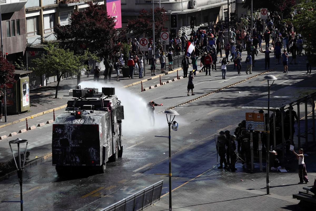 Riot-hit Chile presses forward with social reforms