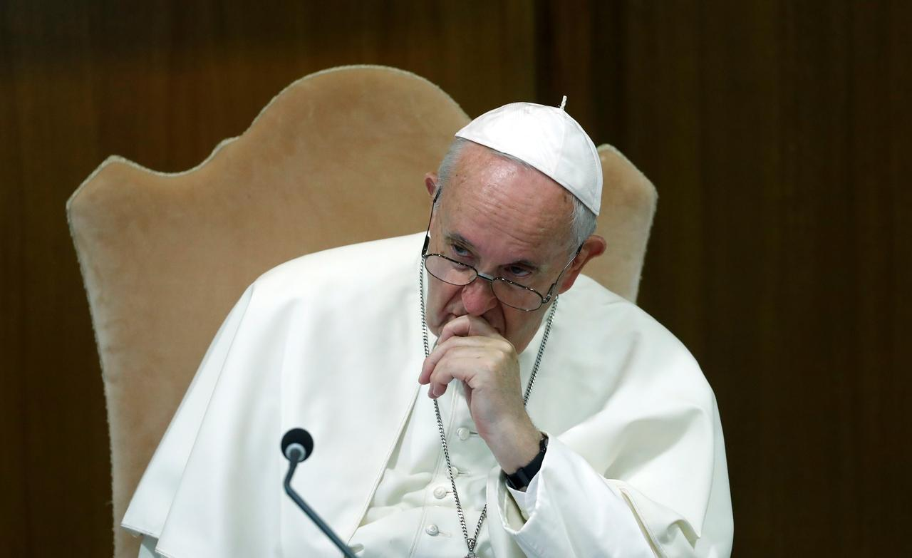 Image result for Pope asks forgiveness for theft of Amazon statues