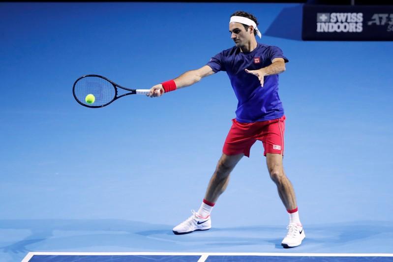 ATP roundup: Tsitsipas rallies, faces Federer next in Swiss Indoors