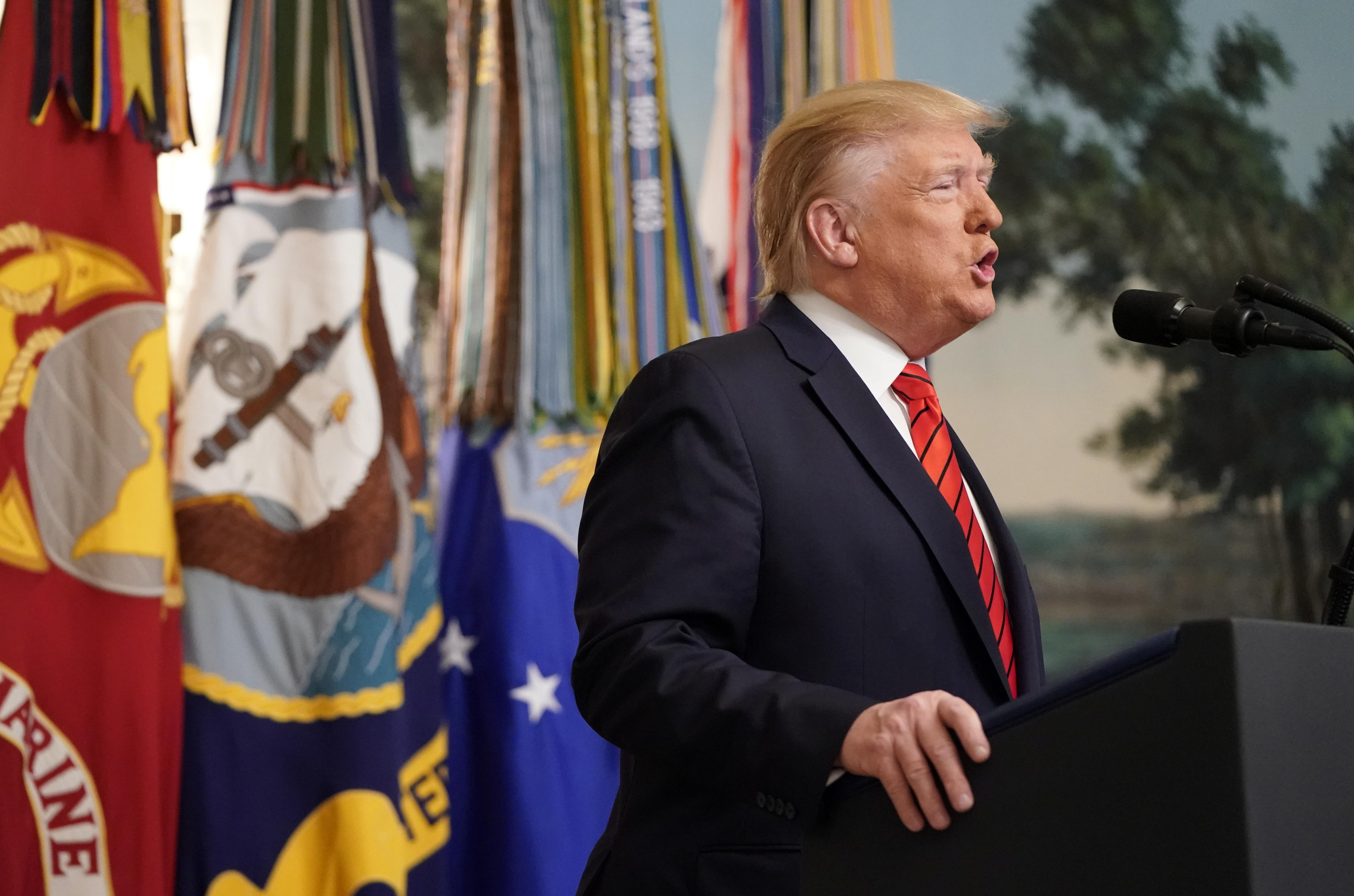 Trump announces grisly death of Islamic State leader Baghdadi...
