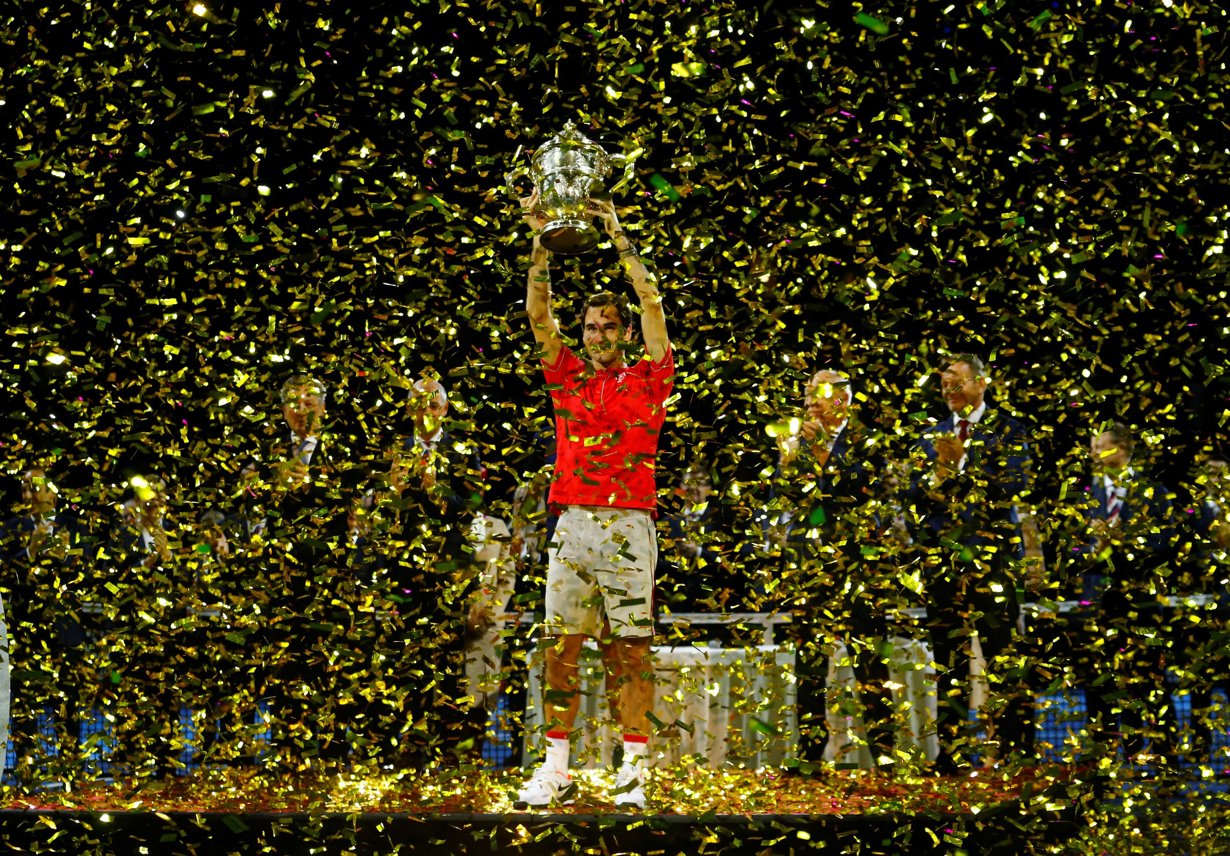 Federer brushes De Minaur aside to claim record 10th Basel title