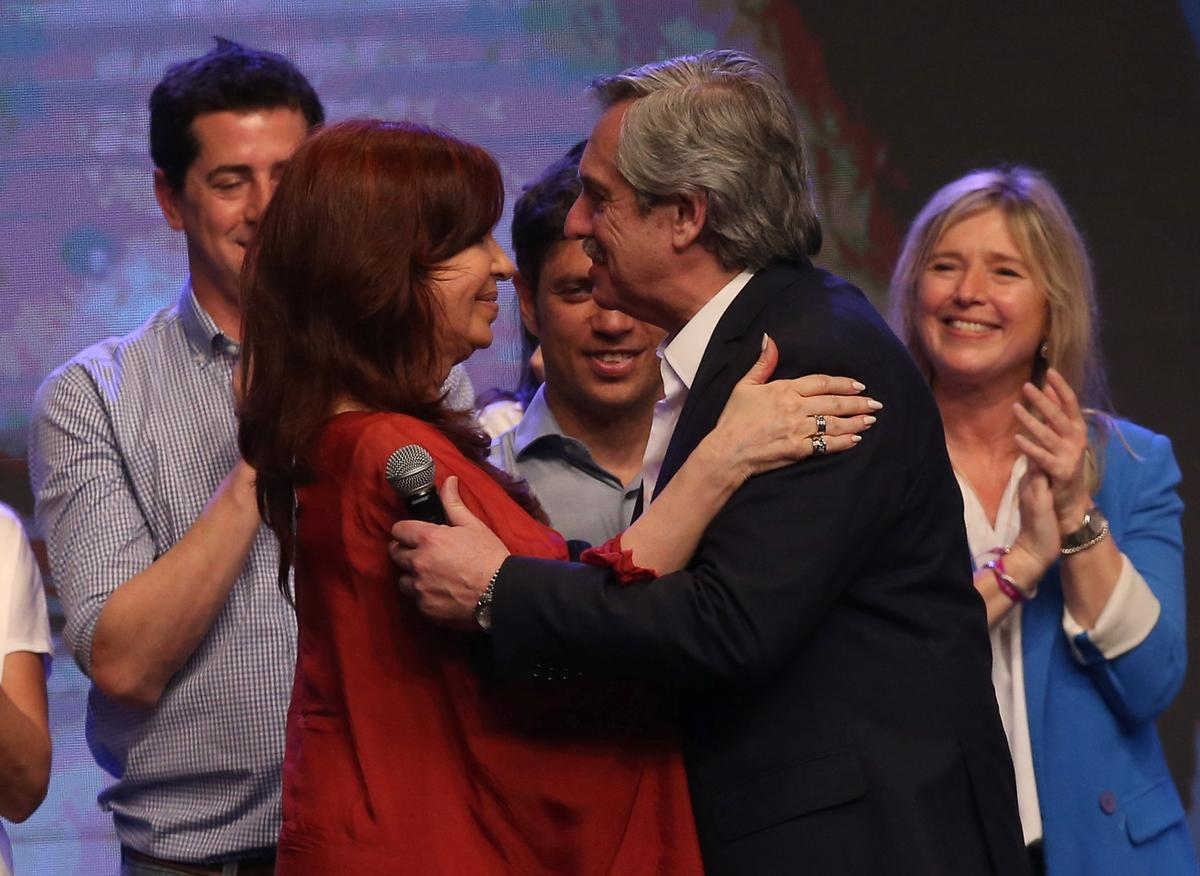 Comeback queen: Argentina's fiery 'Cristina' stages remarkable return as VP