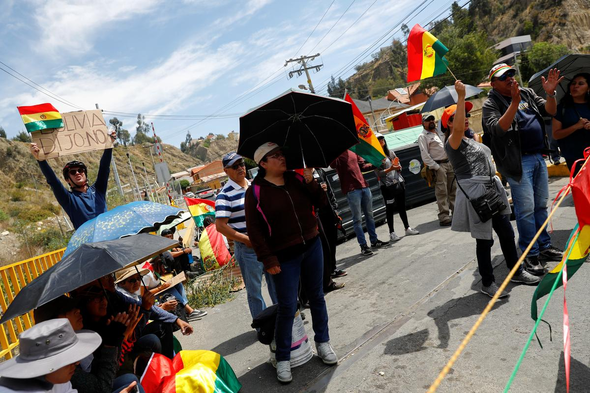 La Paz strikes in protest of Bolivia election results