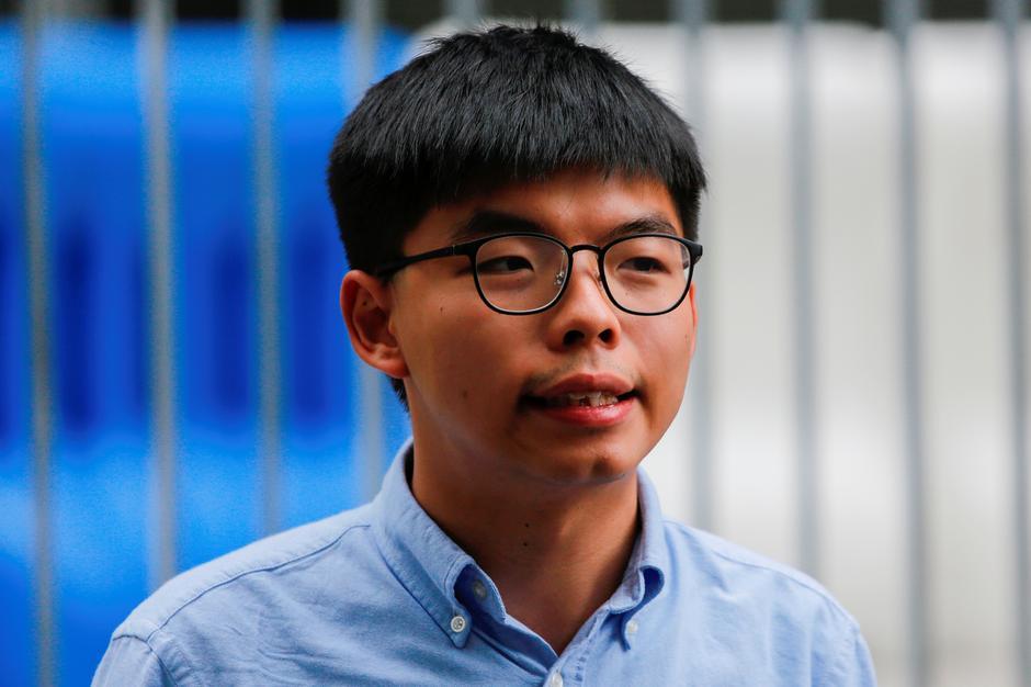 UK expresses Hong Kong Activist Joshua Wong Arrested