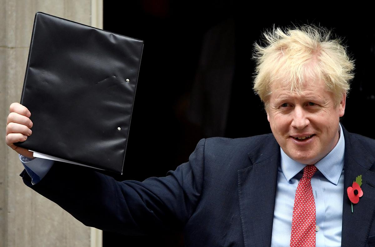 Divide and conquer: British PM Johnson launches high-risk election strategy
