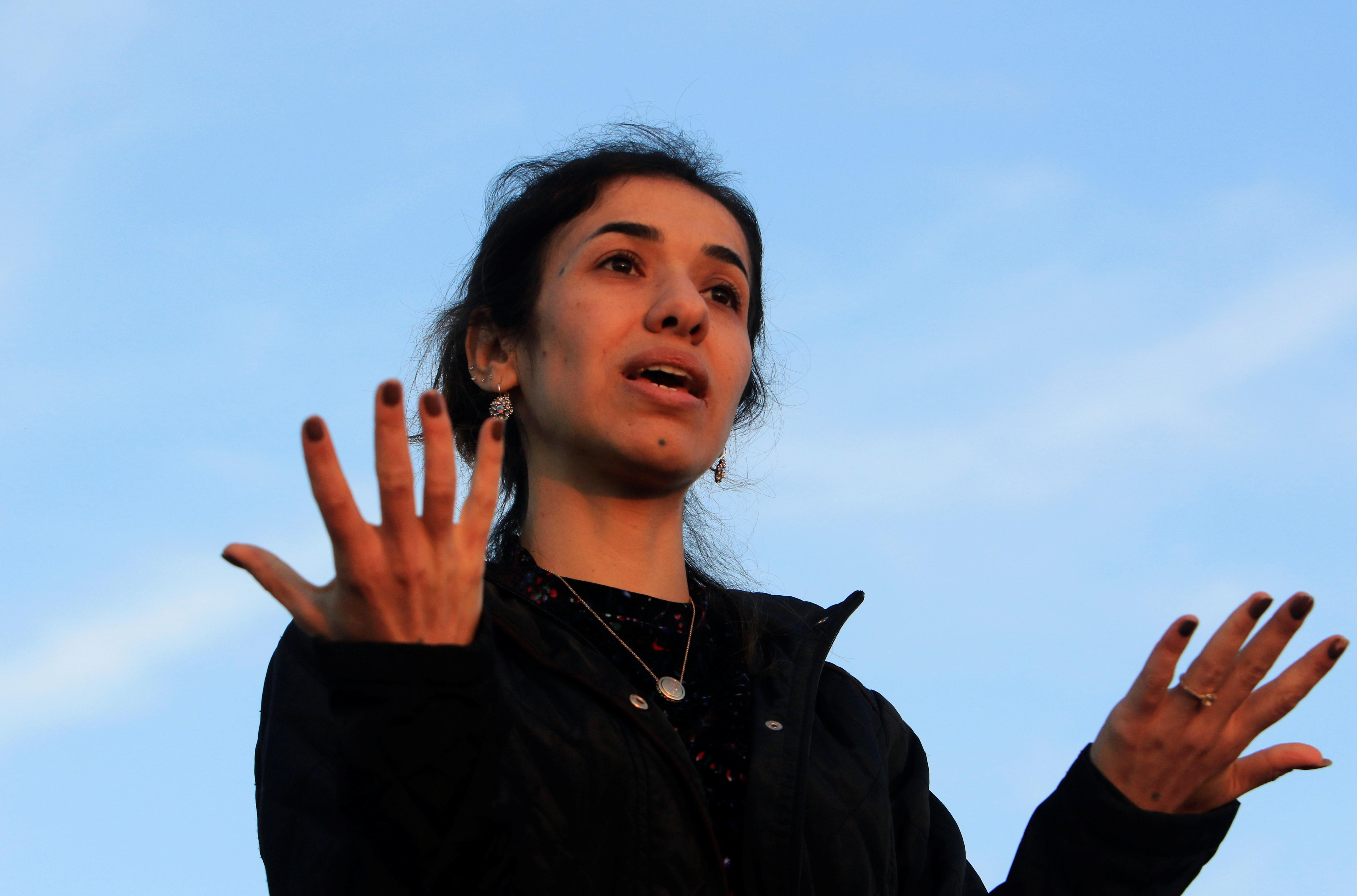 After Baghdadi death, Nobel laureate Nadia Murad asks: What about...