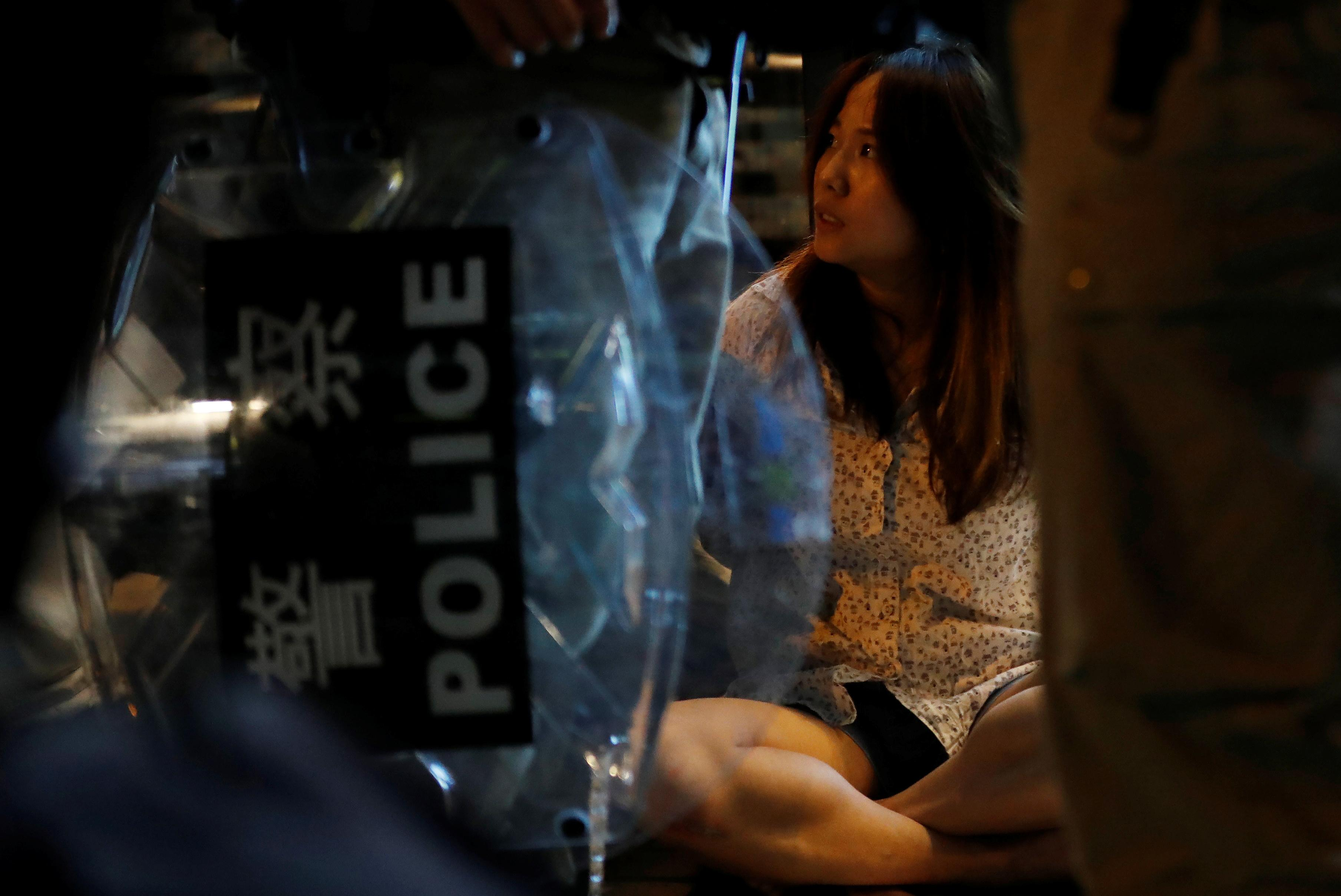 Hong Kong Counts Down To Halloween Protest Fright Night