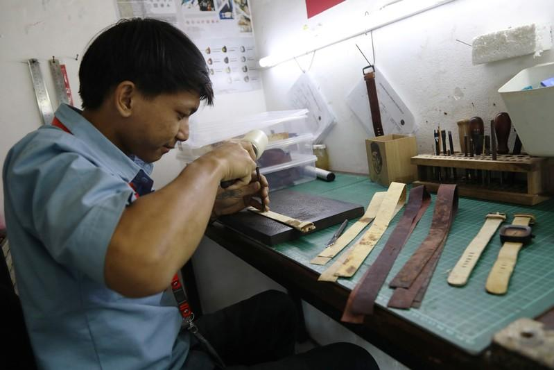 Time for fungus? Indonesian watchmaker turns to mushroom leather