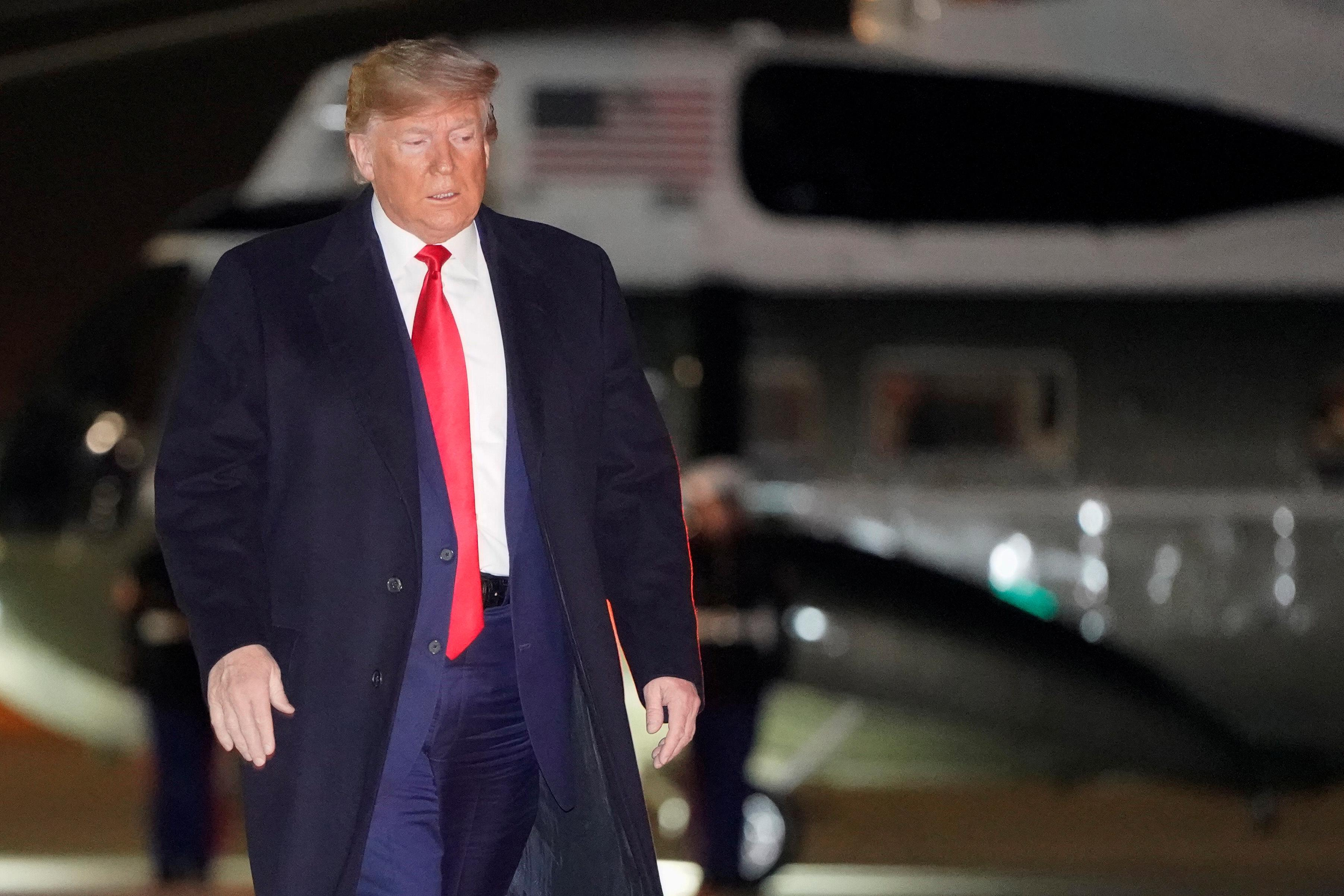 Trump says more information soon to be released about White House's...