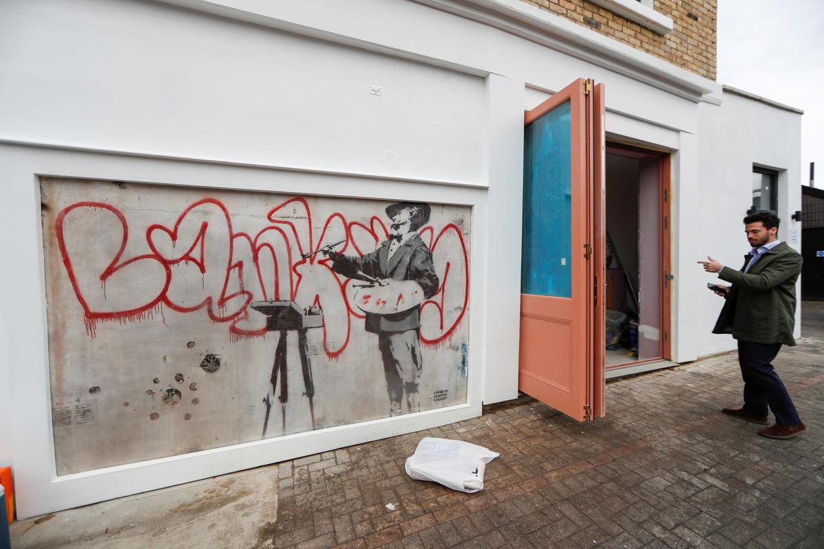 Hidden Banksy mural to be uncovered in heart of London's Notting Hill