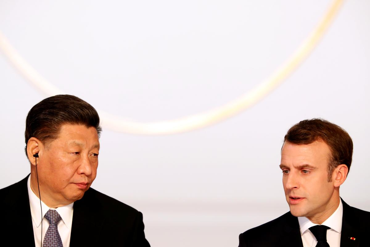 Macron says Europe-China climate cooperation 'decisive'