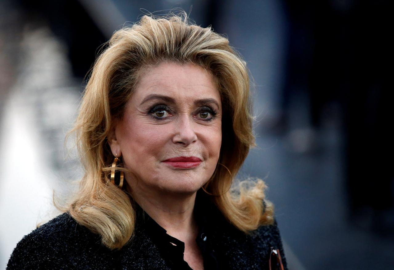 Image result for French movie icon Catherine Deneuve admitted to hospital: Le Parisien