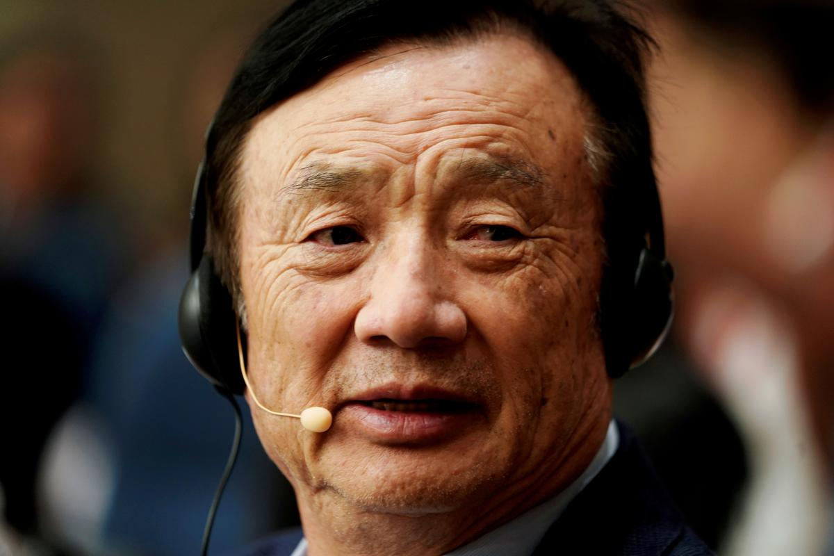 Huawei founder says not yet talking directly with U.S. firms to license 5G